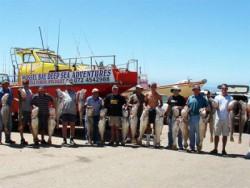 Deep Sea Fishing Mossel Bay