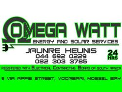 Electrical Contractors in Mossel Bay