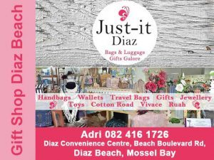 Gift Shop at Diaz Beach in Mossel Bay