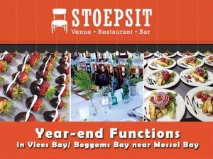 Year-end Functions in Vlees Bay and Boggoms Bay near Mossel Bay
