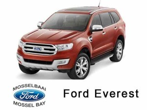 The all-new Ford Everest available in Mossel Bay