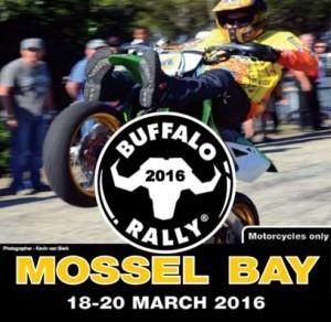 Buffalo Rally 2016 in Mossel Bay