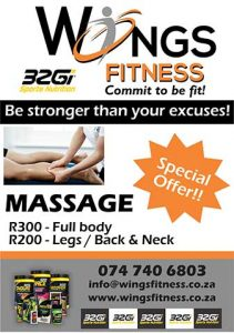 Professional Sport Massages in Mossel Bay