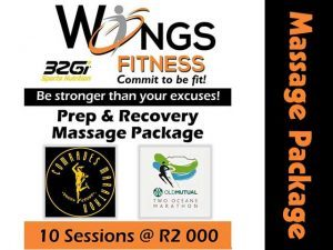 Prep and Recovery Massage Package in Mossel Bay