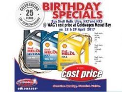 Goldwagen Birthday Specials in Mossel Bay