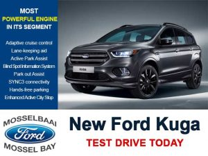 New Ford Kuga 2017 in Mossel Bay