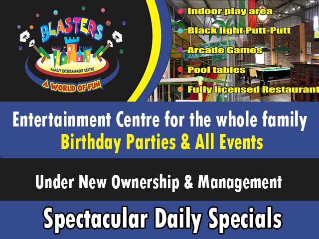 New Owners at Blasters Centre Mossel Bay