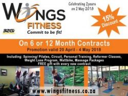 Discount on Gym and Fitness Memberships in Mossel Bay