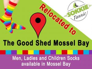 Popular Sock Shop now at The Good Shed Mossel Bay