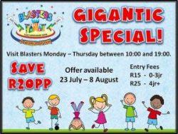 Kids Indoor Play Centre Gigantic Special Mossel Bay