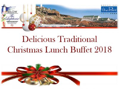 The Point Hotel Mossel Bay Christmas Lunch Buffet 2018