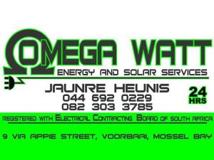 Reliable Grid Backup System Mossel Bay