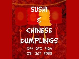 New Sushi, Calamari Rolls available in Mossel Bay