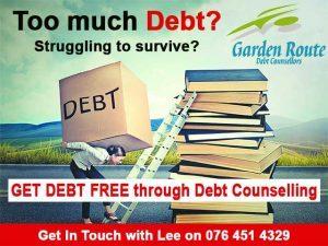 Get Debt Free through Debt Counselling