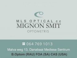 Optometrist in Dana Bay Mossel Bay