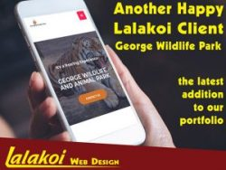 New Website by Lalakoi Web Design