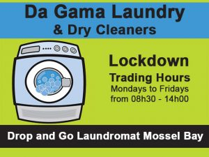 Laundromat Lockdown Trading Hours in Mossel Bay