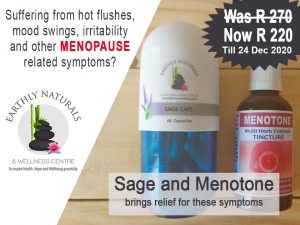 Special Offer on Natural Medicine treating Menopause Symptoms
