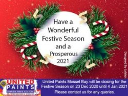 Festive Trading United Paints Mossel Bay