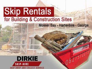 Mossel Bay Skip Rentals for Building Sites