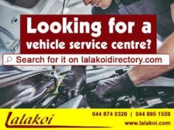 Looking for a vehicle service centre?