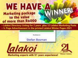 Lalakoi 21st Birthday Competition Winner