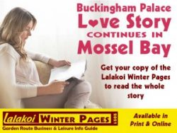 Buckingham Palace Love Story Continues in Mossel Bay