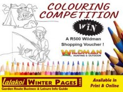 Lalakoi and Wildman George Colouring Competition