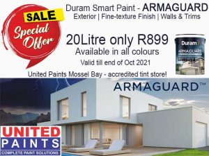 ARMAGUARD Duram Paint on Special Mossel Bay
